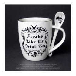 Alchemy Mug and Spoon Set Freaks Like Me