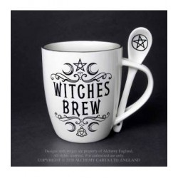 Alchemy Mug and Spoon Set Witches Brew