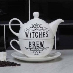 Alchemy Tea For One Set Witches Brew