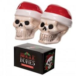 Jingle Bones Christmas Salt & Pepper Set