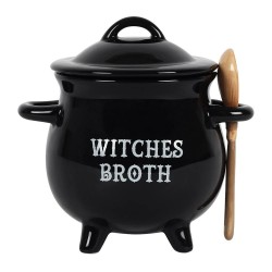 Cauldron Soup Bowl Witches Broth