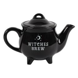 Cauldron Teapot Witches Brew