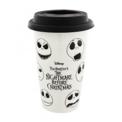 The Nightmare Before Christmas Faces Of Jack Ceramic Travel Mug