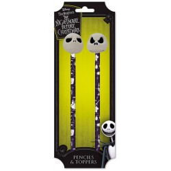 The Nightmare Before Christmas Pencil & Toppers Set