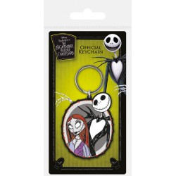 The Nightmare Before Christmas Keyring Jack & Sally
