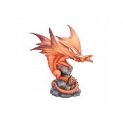 Anne Stokes Age Of Dragons Adult Fire Dragon Figurine