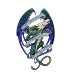 Anne Stokes Wall Plaque Dragon Sometimes DUE IN JULY