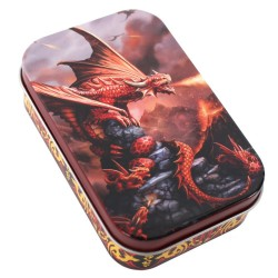 Anne Stokes Tin Age Of Dragons Fire Dragon