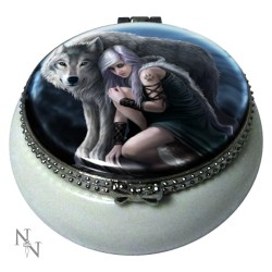 Anne Stokes Ceramic Trinket/Pill Box Protector