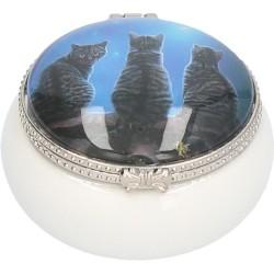 Lisa Parker Ceramic Trinket/Pill Box Wish Upon A Star