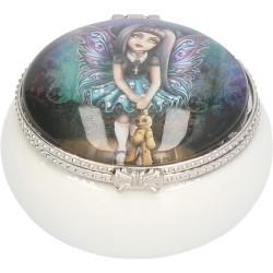 Nemesis Now Ceramic Trinket/Pill Box Noire