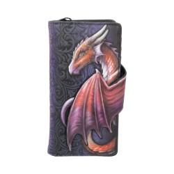 Dragon Embossed Purse Take Flight