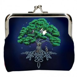 Lisa Parker Coin Purse Tree Of Life