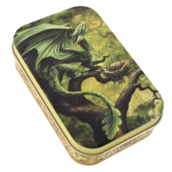 Anne Stokes Tin Age Of Dragons Forest Dragon