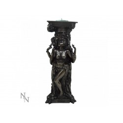 Nemesis Now Bronze Tealight Holder Triple Goddess
