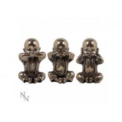 Nemesis Now Bronze Three Wise Monks