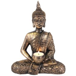 Buddha Tealight Holder Medium