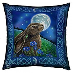 Lisa Parker Cushion Moon Gazing Hare
