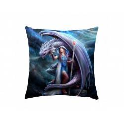 Anne Stokes Cushion Dragon Mage