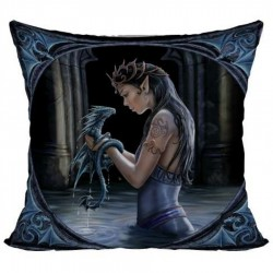 Anne Stokes Cushion Water Dragon
