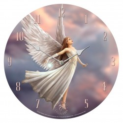 Anne Stokes Wooden Clock Ascendance