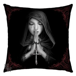 Anne Stokes Cushion Gothic Prayer