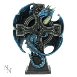 Anne Stokes Candle Holder Draco Candela Figurine