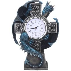 Anne Stokes Clock Dragon Draco Figurine
