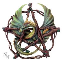 Anne Stokes Forest Pentagram