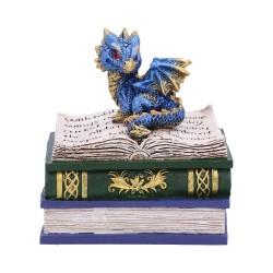 Nemesis Now Dragon Box Dragonling Diaries Blue Figurine