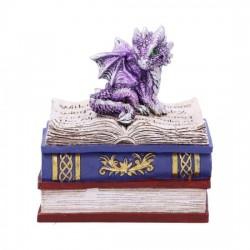 Nemesis Now Dragon Box Dragonling Diaries Purple Figurine
