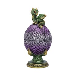 Nemesis Now Dragon Box Egg Guardian Figurine