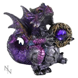 Nemesis Now Dragon Amethyst Dragonling