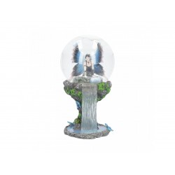 Anne Stokes Snowglobe Immortal Flight