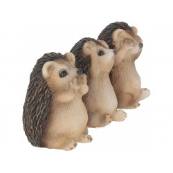 Nemesis Now Three Wise Hedgehogs