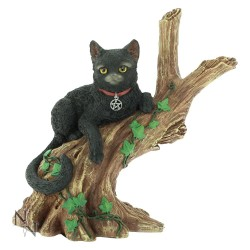 Nemesis Now Cat Figurine-Onyx