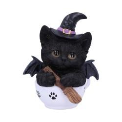 Nemesis Now Cat Kit-Tea Figurine