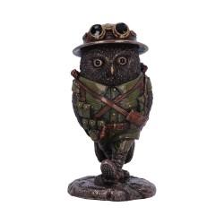 Nemesis Now Bronze Owl Oscar Whiskey Lima Figurine