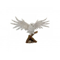 Nemesis Now Owl Snowy Rest Figurine
