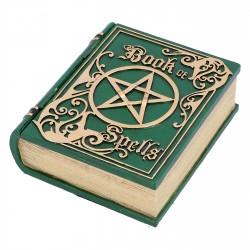 Nemesis Now Box Book Of Spells Green