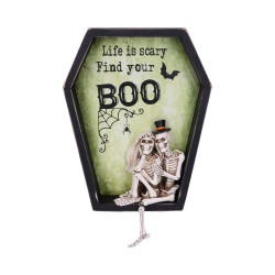 Nemesis Now Bride & Groom Skeletons Life Is Scary Find Your Boo