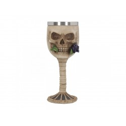 Nemesis Now Goblet Rose From The Dead Purple