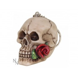 Nemesis Now Keyring Skull Rose From The Dead