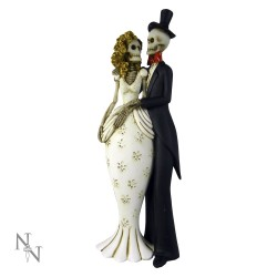 Nemesis Now Bride & Groom Skeleton Til Death Do Us Part