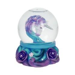 Nemesis Now Unicorn Snow Globe Pure Elegance Figurine
