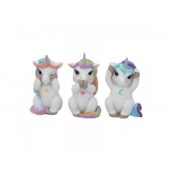 Nemesis Now Unicorn Figurine-Three Wise Cutiecorns