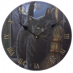 Lisa Parker Wooden Clock A Brush With Magic
