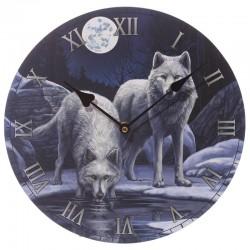 Lisa Parker Wooden Clock Warriors Of Winter