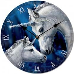 Lisa Parker Wooden Clock Sacred Love