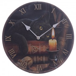 Lisa Parker Wooden Clock The Witching Hour